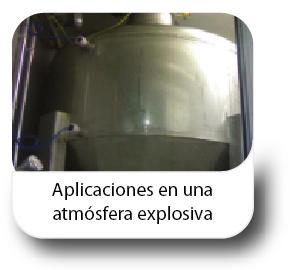Aplicaciones en una atmosfera explosiva