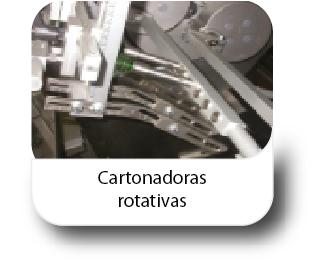 Cartonadoras rotativas