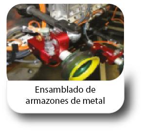 Ensamblado de armazones de metal