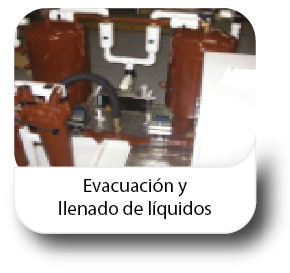 Evacuación y llenado de líquidos