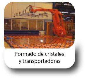 Formado de cristales y transportadoras