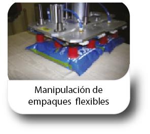 Manipulación de empaques flexibles