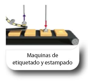 Maquinas de etiquetado y estampado