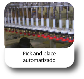 Pick and place automatizado