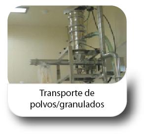 Transporte de polvos - granudados