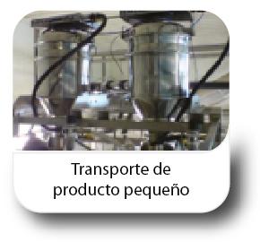 Transporte de producto pequeño
