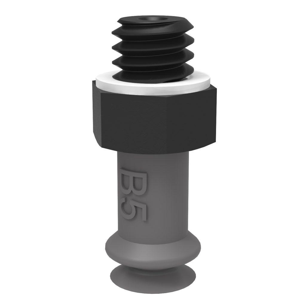 Ventosa B5 EPDM semiconductiva, M5 macho