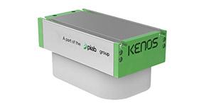 Un dispositivo KENOS con paletas verdes laterales modelo KBC marca PIAB