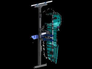 Diseño CAD de Tooling de Flameado